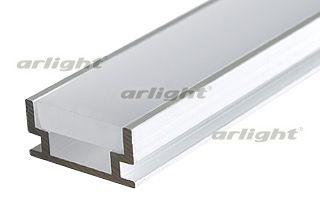 Анодированный алюминиевый профиль, для светодиодной ленты, линейки. Отдельно поставляемый матовый эк Arlight
