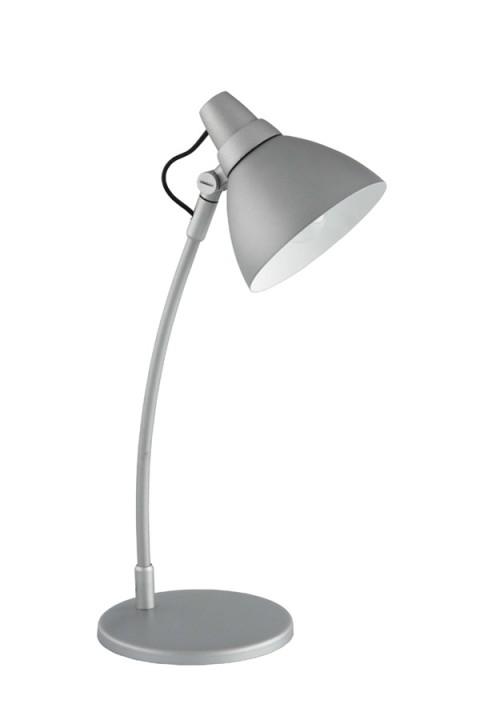 Настольная лампа 92604_11 BrilliantНастольные лампы<br>92604_11 Настольная лампа декоративная Jenny 92604_11. Бренд - Brilliant. материал плафона - металл. цвет плафона - серый. тип цоколя - E14. тип лампы - накаливания или LED. ширина/диаметр - 150. мощность - 40. количество ламп - 1.<br><br>популярные производители: Brilliant<br>материал плафона: металл<br>цвет плафона: серый<br>тип цоколя: E14<br>тип лампы: накаливания или LED<br>ширина/диаметр: 150<br>максимальная мощность лампочки: 40<br>количество лампочек: 1