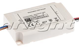 Блок питания ARJ-KE44680-DIM (30W, 680mA, PFC, Triac) Arlight от Дивайн Лайт