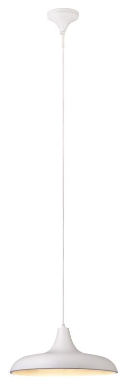Подвесной  потолочный светильник 105068подвесные<br>Подвес. Бренд - MarkSojd&amp;LampGustaf. тип лампы - накаливания или LED. количество ламп - 1. тип цоколя - E27. мощность лампы - 60. цвет арматуры - белый. цвет плафона - белый. материал арматуры - металл. материал плафона - металл. высота - 1500. ширина/диаметр - 400. степень защиты ip - 20. форма - круг. стиль - модерн. страна происхождения - Швеция. коллекция - BRYNE. напряжение - 220.<br><br>Бренд: MarkSojd&amp;LampGustaf<br>тип лампы: накаливания или LED<br>количество ламп: 1<br>тип цоколя: E27<br>мощность лампы: 60<br>цвет арматуры: белый<br>цвет плафона: белый<br>материал арматуры: металл<br>материал плафона: металл<br>высота: 1500<br>ширина/диаметр: 400<br>степень защиты ip: 20<br>форма: круг<br>стиль: модерн<br>страна происхождения: Швеция<br>коллекция: BRYNE<br>напряжение: 220