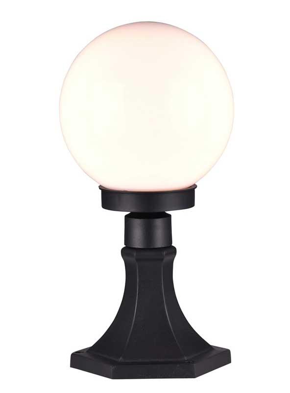 Светильник уличный 1507-1T FavouriteСадово-парковые<br>уличный светильник, IP44. Бренд - Favourite. материал плафона - пластик. цвет плафона - белый. тип цоколя - E27. тип лампы - накаливания или LED. ширина/диаметр - 200. мощность - 13. количество ламп - 1.<br><br>популярные производители: Favourite<br>материал плафона: пластик<br>цвет плафона: белый<br>тип цоколя: E27<br>тип лампы: накаливания или LED<br>ширина/диаметр: 200<br>максимальная мощность лампочки: 13<br>количество лампочек: 1