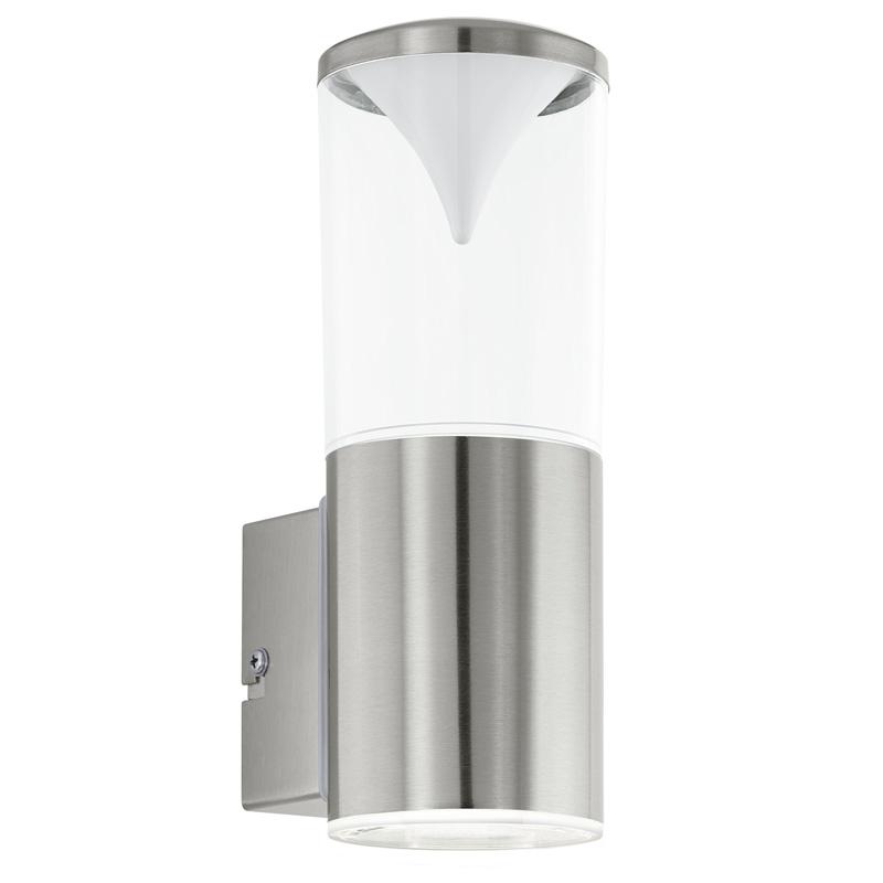 Светильник настенный 94811 EGLOНастенные<br>Уличный светодиодный светильник настенный PENALVA, 2х3,7W (LED), IP44, нерж. сталь/пластик. Бренд - EGLO. материал плафона - пластик. цвет плафона - прозрачный. тип лампы - LED. ширина/диаметр - 75. мощность - 3.7. количество ламп - 2.<br><br>популярные производители: EGLO<br>материал плафона: пластик<br>цвет плафона: прозрачный<br>тип лампы: LED<br>ширина/диаметр: 75<br>максимальная мощность лампочки: 3.7<br>количество лампочек: 2