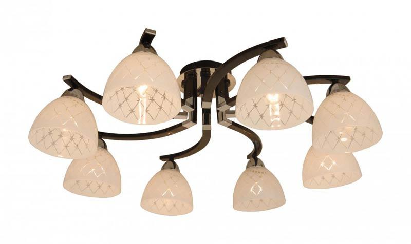Потолочная люстра на штанге CL152181 Citiluxна штанге<br>CL152181 Люстра на штанге Кристи CL152181. Бренд - Citilux. материал плафона - стекло. цвет плафона - белый. тип цоколя - E27. тип лампы - накаливания или LED. ширина/диаметр - 690. мощность - 75. количество ламп - 8.<br><br>популярные производители: Citilux<br>материал плафона: стекло<br>цвет плафона: белый<br>тип цоколя: E27<br>тип лампы: накаливания или LED<br>ширина/диаметр: 690<br>максимальная мощность лампочки: 75<br>количество лампочек: 8