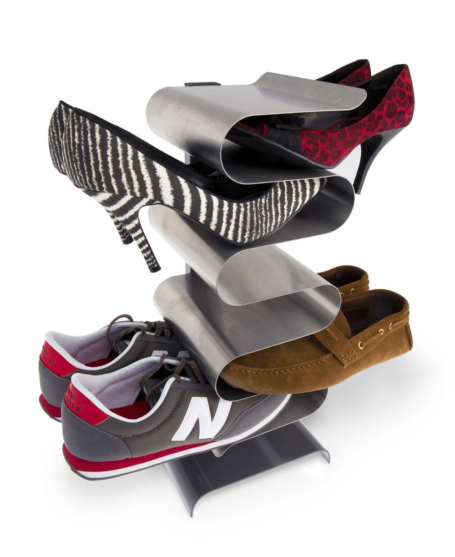 Полка для обуви nest напольная Fine DesignВешалки и крючки<br>. Бренд - Fine Design. материал - Металл.<br><br>популярные производители: Fine Design<br>материал: Металл