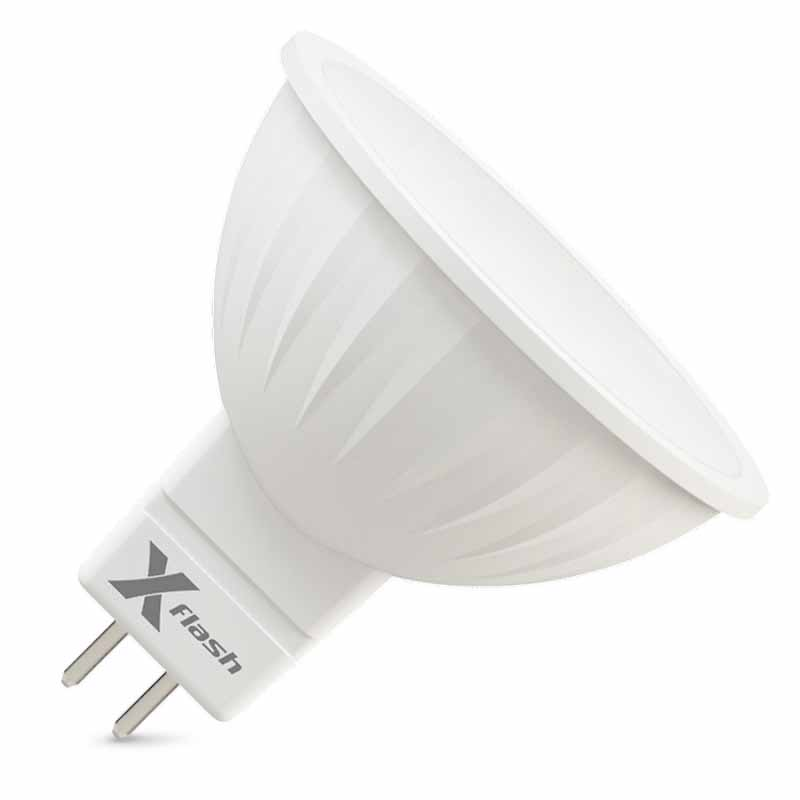 Светодиодная лампа XF-MR16-P-GU5.3-3W-3000K-12V X-flash X-Flashсветодиодные<br>Светодиодная лампа X-flash XF-MR16-P-GU5.3-3W-3000K-12V. Бренд - X-Flash. тип цоколя - GU5.3. тип лампы - LED. ширина/диаметр - 50. мощность - 3.<br><br>популярные производители: X-Flash<br>тип цоколя: GU5.3<br>тип лампы: LED<br>ширина/диаметр: 50<br>максимальная мощность лампочки: 3