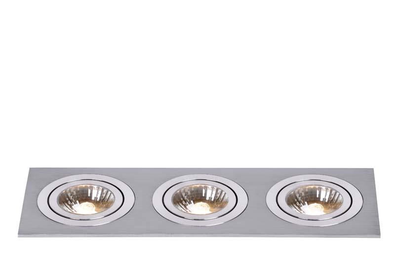 Точечный светильник 28901/03/12 LUCIDEвстраиваемые<br>CHATTY Spot 3x GU10/50W excl. Satin Chrome. Бренд - LUCIDE. тип цоколя - GU10. тип лампы - галогеновая или LED. ширина/диаметр - 90. мощность - 50. количество ламп - 3.<br><br>популярные производители: LUCIDE<br>тип цоколя: GU10<br>тип лампы: галогеновая или LED<br>ширина/диаметр: 90<br>максимальная мощность лампочки: 50<br>количество лампочек: 3