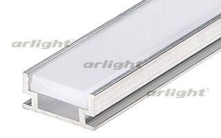 Неанодированный алюминиевый профиль, для светодиодной ленты, линейки. Отдельно поставляемый матовый  Arlight