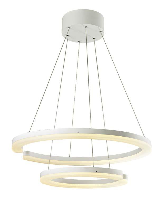 Подвесной  потолочный светильник SL887.503.02 ST-Luceподвесные<br>Светильник подвесной. Бренд - ST-Luce. материал плафона - стекло. цвет плафона - белый. тип лампы - LED. ширина/диаметр - 650. мощность - 84. количество ламп - 1.<br><br>популярные производители: ST-Luce<br>материал плафона: стекло<br>цвет плафона: белый<br>тип лампы: LED<br>ширина/диаметр: 650<br>максимальная мощность лампочки: 84<br>количество лампочек: 1