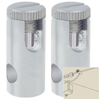 97283 Paulmannкомплектующие<br>Крепежный элемент для струны, 2шт., металл    . Бренд - Paulmann.<br><br>популярные производители: Paulmann