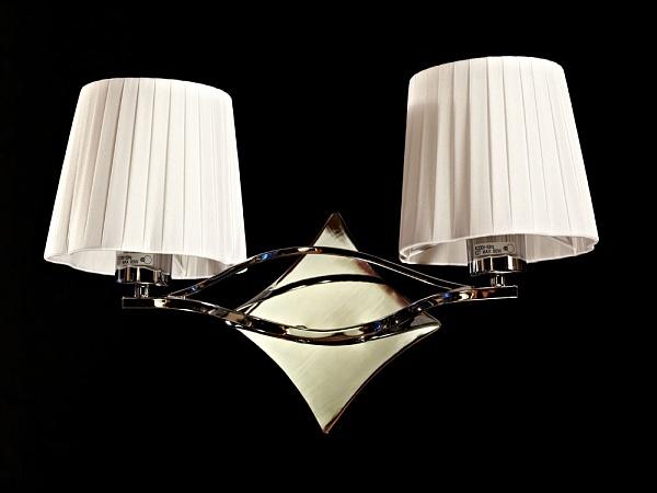 Бра BB 03203/2 Chrome BRIZZI ModernНастенные и бра<br>BB 03203/2 Chrome Бра модерн. Бренд - BRIZZI Modern. материал плафона - ткань. цвет плафона - белый. тип цоколя - E27. тип лампы - КЛЛ. ширина/диаметр - 420. мощность - 60. количество ламп - 2.<br><br>популярные производители: BRIZZI Modern<br>материал плафона: ткань<br>цвет плафона: белый<br>тип цоколя: E27<br>тип лампы: КЛЛ<br>ширина/диаметр: 420<br>максимальная мощность лампочки: 60<br>количество лампочек: 2