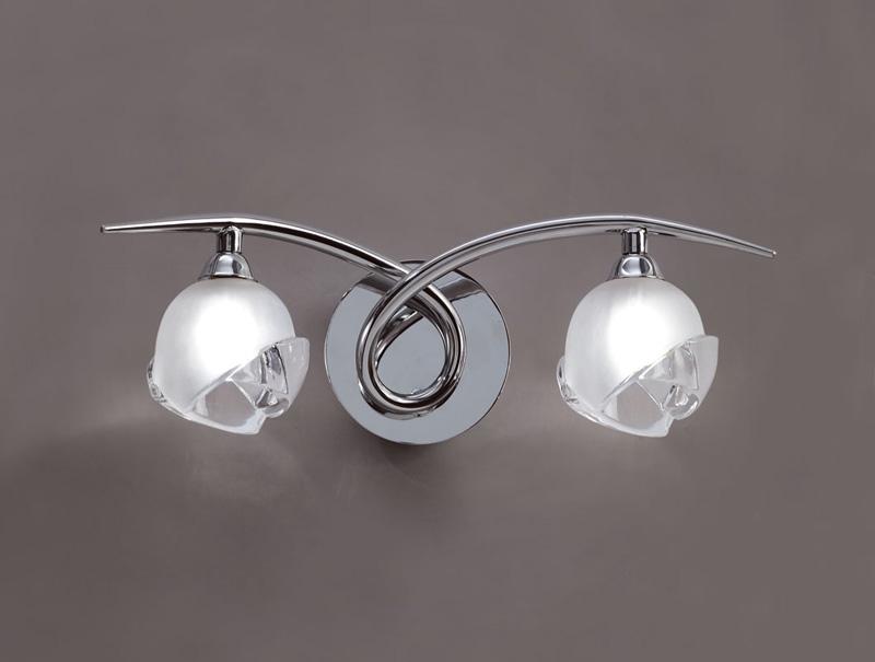 Бра 0817 MantraНастенные и бра<br>WALL LAMP 2L. Бренд - Mantra. материал плафона - стекло. цвет плафона - прозрачный. тип цоколя - G9. тип лампы - галогеновая или LED. ширина/диаметр - 140. мощность - 40. количество ламп - 2.<br><br>популярные производители: Mantra<br>материал плафона: стекло<br>цвет плафона: прозрачный<br>тип цоколя: G9<br>тип лампы: галогеновая или LED<br>ширина/диаметр: 140<br>максимальная мощность лампочки: 40<br>количество лампочек: 2