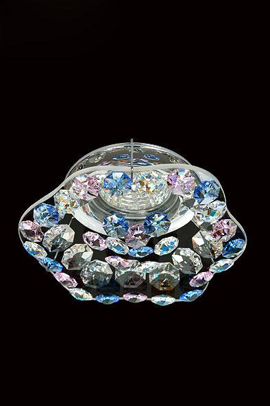 Точечный светильник 3.262.6 Ovaxвстраиваемые<br>Светильник галогенный Облако Премиум Swarovski Contour хром, цвет хрусталя - любой (MR-16). Бренд - Ovax. материал плафона - Swarovski STRAASS. цвет плафона - прозрачный. тип цоколя - GU5.3. тип лампы - галогеновая или LED. ширина/диаметр - 125. мощность - 50. количество ламп - 1.<br><br>популярные производители: Ovax<br>материал плафона: Swarovski STRAASS<br>цвет плафона: прозрачный<br>тип цоколя: GU5.3<br>тип лампы: галогеновая или LED<br>ширина/диаметр: 125<br>максимальная мощность лампочки: 50<br>количество лампочек: 1