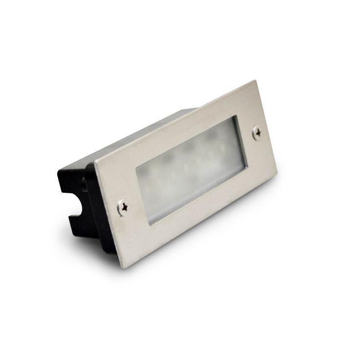 Светильник для подсветки A04B-24L220V-5W MaysunДля стен и ступеней<br>Светодиодный встраиваемый светильник A04B-24L220V-5W (70*170) -Белый. Бренд - Maysun. материал плафона - металл. тип лампы - LED. ширина/диаметр - 70. мощность - 5.<br><br>популярные производители: Maysun<br>материал плафона: металл<br>тип лампы: LED<br>ширина/диаметр: 70<br>максимальная мощность лампочки: 5