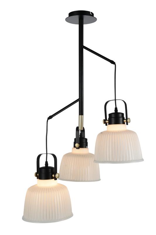 Подвесной  потолочный светильник SL714.443.03 ST-Luceподвесные<br>Люстра подвесная. Бренд - ST-Luce. материал плафона - стекло. цвет плафона - белый. тип цоколя - E27. тип лампы - накаливания или LED. ширина/диаметр - 230. мощность - 60. количество ламп - 3.<br><br>популярные производители: ST-Luce<br>материал плафона: стекло<br>цвет плафона: белый<br>тип цоколя: E27<br>тип лампы: накаливания или LED<br>ширина/диаметр: 230<br>максимальная мощность лампочки: 60<br>количество лампочек: 3