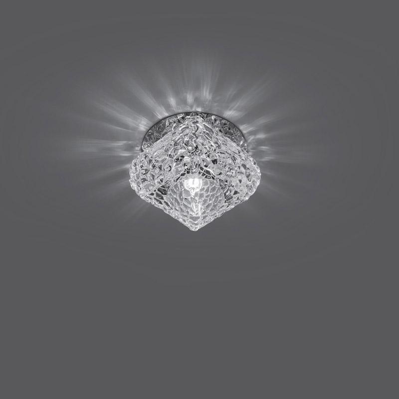 Точечный светильник CR014 Gaussвстраиваемые<br>Светильник Gauss Crystal CR014, G9 1/30. Бренд - Gauss. материал плафона - стекло. цвет плафона - прозрачный. тип цоколя - G9. тип лампы - галогеновая или LED. ширина/диаметр - 80. мощность - 50. количество ламп - 1.<br><br>популярные производители: Gauss<br>материал плафона: стекло<br>цвет плафона: прозрачный<br>тип цоколя: G9<br>тип лампы: галогеновая или LED<br>ширина/диаметр: 80<br>максимальная мощность лампочки: 50<br>количество лампочек: 1