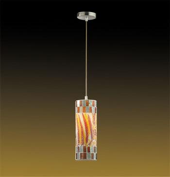 Подвесной  потолочный светильник 2295/1 Odeon Lightподвесные<br>2295/1 ODL12 649 мозаика/хром Подвес  E27 60W 220V COLORE. Бренд - Odeon Light. материал плафона - стекло. цвет плафона - разноцветный. тип цоколя - E27. тип лампы - галогеновая или LED. ширина/диаметр - 100. мощность - 60. количество ламп - 1.<br><br>популярные производители: Odeon Light<br>материал плафона: стекло<br>цвет плафона: разноцветный<br>тип цоколя: E27<br>тип лампы: галогеновая или LED<br>ширина/диаметр: 100<br>максимальная мощность лампочки: 60<br>количество лампочек: 1