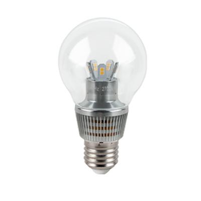 Лампа 7W E27 2700K  диммируемая Gauss светодиодный шар D55 для хрустальных люстр (прозрачный)