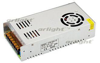 Блок питания JTS-250-12 (0-12V, 20A, 250W) Arlightблоки питания DC<br>Регулируемый блок питания с вентилятором (автоконтроль температуры), напряжение регулируется с помощью встроенного потенциометра от 0 до12.... Бренд - Arlight. ширина/диаметр - 100. мощность - 250.<br><br>популярные производители: Arlight<br>ширина/диаметр: 100<br>максимальная мощность лампочки: 250