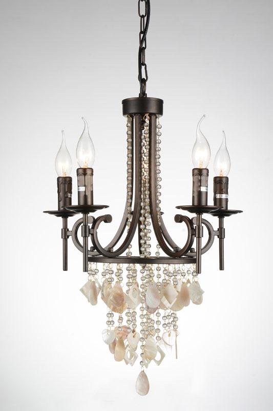 Потолочная люстра подвесная 1587-5P Favouriteподвесные<br>люстра. Бренд - Favourite. тип цоколя - E14. тип лампы - накаливания или LED. ширина/диаметр - 410. мощность - 40. количество ламп - 5.<br><br>популярные производители: Favourite<br>тип цоколя: E14<br>тип лампы: накаливания или LED<br>ширина/диаметр: 410<br>максимальная мощность лампочки: 40<br>количество лампочек: 5