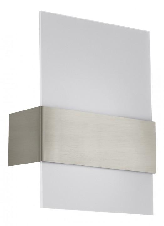 Бра 93382 EGLOНастенные и бра<br>Светодиодное бра NIKITA, 2х2,5W (LED), 215х290, никель/белый. Бренд - EGLO. материал плафона - стекло. цвет плафона - белый. тип цоколя - E27. тип лампы - LED. мощность - 2.5. количество ламп - 2.<br><br>популярные производители: EGLO<br>материал плафона: стекло<br>цвет плафона: белый<br>тип цоколя: E27<br>тип лампы: LED<br>максимальная мощность лампочки: 2.5<br>количество лампочек: 2