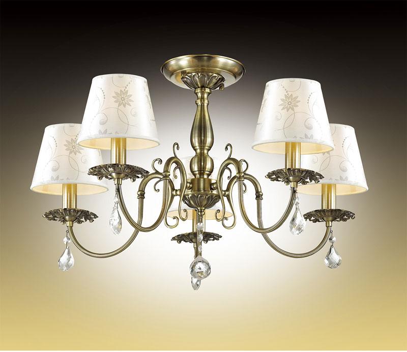 Потолочная люстра на штанге 2930/5Cна штанге<br>2930/5C ODL16 077 бронзовый/абажур ткань/хрусталь Люстра потолочная E14 5*40W 220V VITA. Бренд - Odeon Light. тип лампы - накаливания или LED. количество ламп - 5. тип цоколя - E14. мощность лампы - 40. цвет арматуры - бронзовый. цвет плафона - белый. материал арматуры - металл. материал плафона - ткань. высота - 400. ширина/диаметр - 680. длина - 680. степень защиты ip - 20. форма - круг. стиль - классический. страна происхождения - Италия. коллекция - Vita. напряжение - 220.<br><br>Бренд: Odeon Light<br>тип лампы: накаливания или LED<br>количество ламп: 5<br>тип цоколя: E14<br>мощность лампы: 40<br>цвет арматуры: бронзовый<br>цвет плафона: белый<br>материал арматуры: металл<br>материал плафона: ткань<br>высота: 400<br>ширина/диаметр: 680<br>длина: 680<br>степень защиты ip: 20<br>форма: круг<br>стиль: классический<br>страна происхождения: Италия<br>коллекция: Vita<br>напряжение: 220