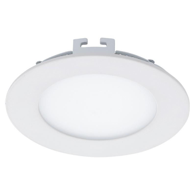 Точечный светильник 94051 EGLOвстраиваемые<br>Светодиодный встраиваемый светильник FUEVA 1, 6W (LED), ?120, , нейтральный. Бренд - EGLO. материал плафона - пластик. цвет плафона - белый. тип лампы - LED. ширина/диаметр - 120. мощность - 5.<br><br>популярные производители: EGLO<br>материал плафона: пластик<br>цвет плафона: белый<br>тип лампы: LED<br>ширина/диаметр: 120<br>максимальная мощность лампочки: 5