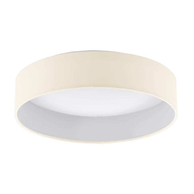 Потолочная люстра накладная 93392 EGLOнакладные<br>Светодиодная люстра PALOMARO, 13,3W (LED), ?320, пластик/текстиль кремовый. Бренд - EGLO. материал плафона - ткань. цвет плафона - бежевый. тип лампы - LED. ширина/диаметр - 320. мощность - 12.<br><br>популярные производители: EGLO<br>материал плафона: ткань<br>цвет плафона: бежевый<br>тип лампы: LED<br>ширина/диаметр: 320<br>максимальная мощность лампочки: 12