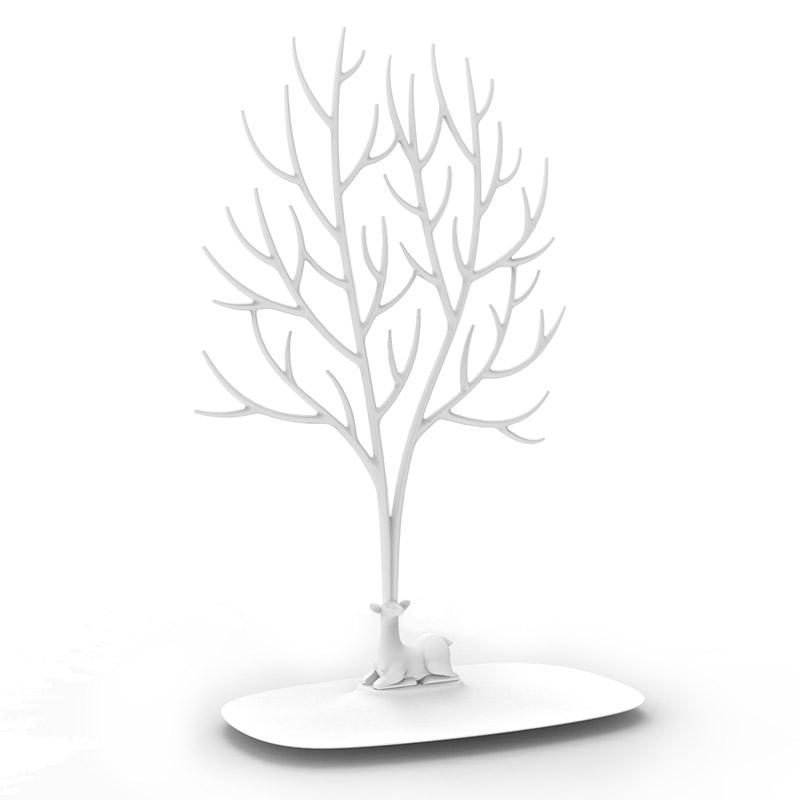 Декоративный органайзер для украшений deer большой белый QualyДекоративные предметы хранения<br>. Бренд - Qualy. материал - пластик ABS. цвет - белый.<br><br>популярные производители: Qualy<br>материал: пластик ABS<br>цвет: белый