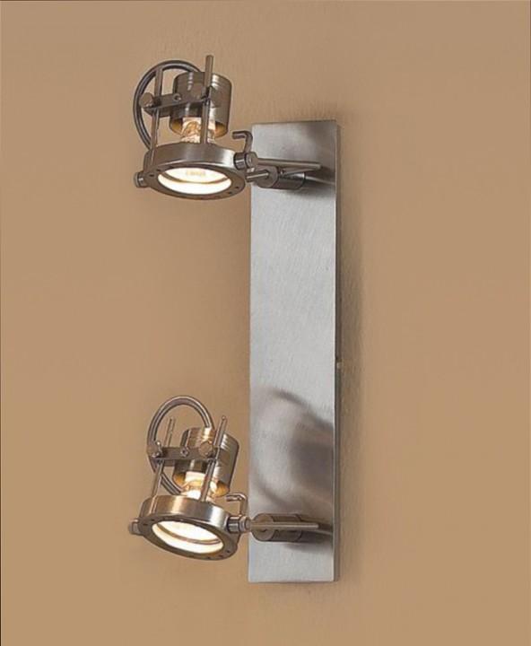 спот CL515521 CitiluxСпоты<br>CL515521 Спот Терминатор CL515521. Бренд - Citilux. материал плафона - металл. цвет плафона - серый. тип цоколя - GU10. тип лампы - галогеновая или LED. мощность - 50. количество ламп - 2.<br><br>популярные производители: Citilux<br>материал плафона: металл<br>цвет плафона: серый<br>тип цоколя: GU10<br>тип лампы: галогеновая или LED<br>ширина/диаметр: 0<br>максимальная мощность лампочки: 50<br>количество лампочек: 2