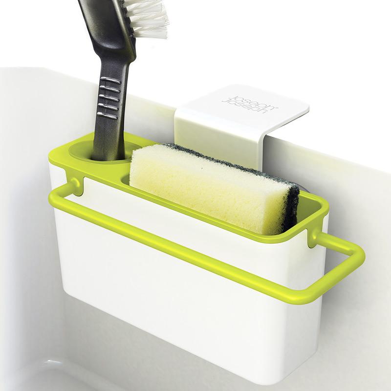 Органайзер для раковины sink aid™ навесной белый/зеленый Fine DesignХранение и порядок<br>. Бренд - Fine Design. материал - пластик ABS, поливинилхлорид.<br><br>популярные производители: Fine Design<br>материал: пластик ABS, поливинилхлорид