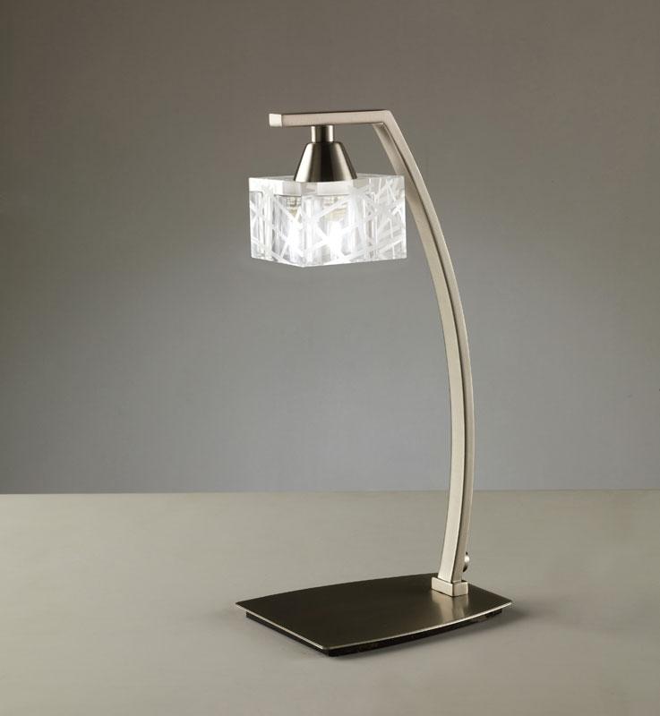 Настольная лампа 1447 MantraНастольные лампы<br>SATIN NICKEL. Бренд - Mantra. материал плафона - стекло. цвет плафона - прозрачный. тип цоколя - G9. тип лампы - галогеновая или LED. ширина/диаметр - 115. мощность - 40. количество ламп - 1.<br><br>популярные производители: Mantra<br>материал плафона: стекло<br>цвет плафона: прозрачный<br>тип цоколя: G9<br>тип лампы: галогеновая или LED<br>ширина/диаметр: 115<br>максимальная мощность лампочки: 40<br>количество лампочек: 1