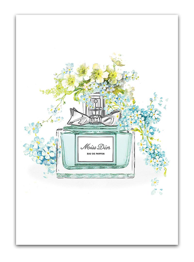 Постер Miss Dior А4 DG-HOME от Дивайн Лайт