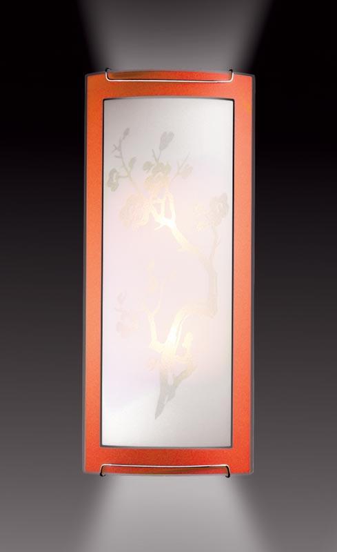 Бра 1648 SonexНастенные и бра<br>1648 FBK11 088 оранжевый/хром Бра E14 2*60W 220V SAKURA. Бренд - Sonex. материал плафона - стекло. цвет плафона - белый. тип цоколя - E27. тип лампы - накаливания или LED. ширина/диаметр - 155. мощность - 60. количество ламп - 1.<br><br>популярные производители: Sonex<br>материал плафона: стекло<br>цвет плафона: белый<br>тип цоколя: E27<br>тип лампы: накаливания или LED<br>ширина/диаметр: 155<br>максимальная мощность лампочки: 60<br>количество лампочек: 1