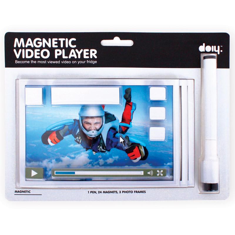 Набор магнитов на холодильник video player DoiyРазный настенный декор<br>. Бренд - Doiy. материал - пластик, магнит. цвет - Разноцветный.<br><br>популярные производители: Doiy<br>материал: пластик, магнит<br>цвет: Разноцветный