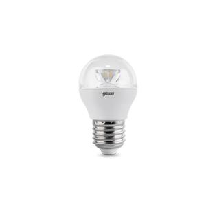 Лампа LED E27 4W 2700K 1/10/50 Gauss Globe Crystal Clear