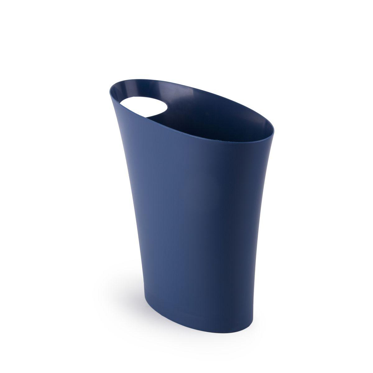 Контейнер мусорный skinny индиго UmbraХранение и порядок<br>. Бренд - Umbra. материал - полипропилен. цвет - фиолетовый.<br><br>популярные производители: Umbra<br>материал: полипропилен<br>цвет: фиолетовый