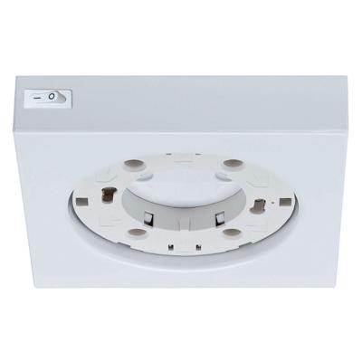Мебельный светильник 93002 PaulmannМебельные светильники<br>Светильник мебельный макс 13W белый. Бренд - Paulmann. тип цоколя - GX53. тип лампы - галогеновая или LED. ширина/диаметр - 110. мощность - 13. количество ламп - 1.<br><br>популярные производители: Paulmann<br>тип цоколя: GX53<br>тип лампы: галогеновая или LED<br>ширина/диаметр: 110<br>максимальная мощность лампочки: 13<br>количество лампочек: 1