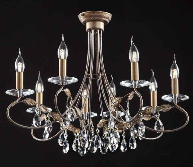 Потолочная люстра накладная CL418181 Citiluxнакладные<br>CL418181 Подвесная люстра Честер CL418181. Бренд - Citilux. тип цоколя - E14. тип лампы - накаливания или LED. ширина/диаметр - 560. мощность - 60. количество ламп - 8.<br><br>популярные производители: Citilux<br>тип цоколя: E14<br>тип лампы: накаливания или LED<br>ширина/диаметр: 560<br>максимальная мощность лампочки: 60<br>количество лампочек: 8