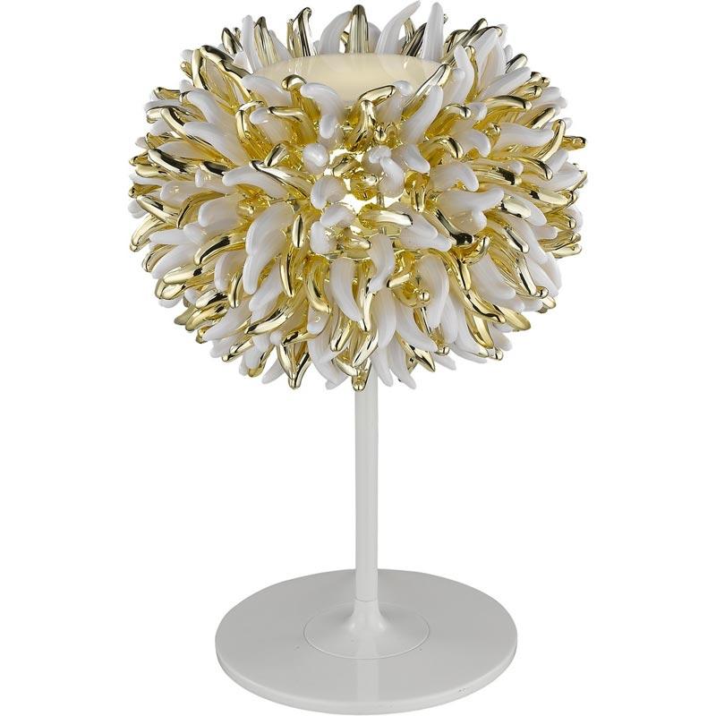 Настольная лампа 1336/03 TL-1 DivinareНастольные лампы<br>1336/03 TL-1. Бренд - Divinare. материал плафона - пластик. цвет плафона - золотой. тип цоколя - E27. тип лампы - накаливания или LED. ширина/диаметр - 310. мощность - 20. количество ламп - 1. особенности - Дизайнерская настольная лампа.<br><br>популярные производители: Divinare<br>материал плафона: пластик<br>цвет плафона: золотой<br>тип цоколя: E27<br>тип лампы: накаливания или LED<br>ширина/диаметр: 310<br>максимальная мощность лампочки: 20<br>количество лампочек: 1<br>особенности: Дизайнерская настольная лампа