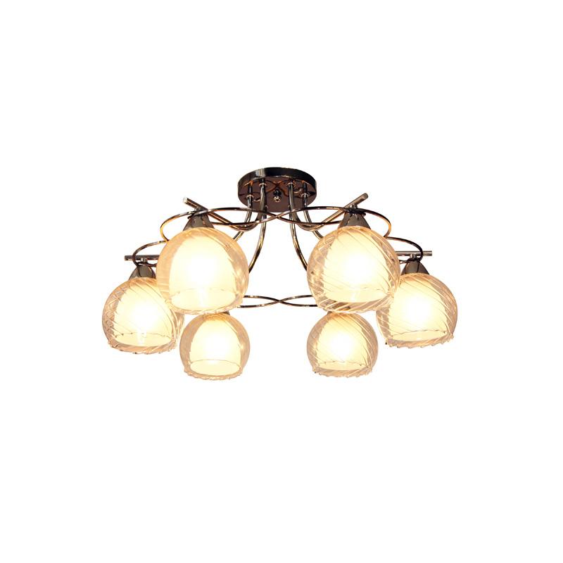Потолочная люстра накладная 873/6PF-Darkchrome IDLampнакладные<br>Потолочный. Бренд - IDLamp. материал плафона - стекло. цвет плафона - белый. тип цоколя - E27. тип лампы - накаливания или LED. ширина/диаметр - 595. мощность - 40. количество ламп - 6.<br><br>популярные производители: IDLamp<br>материал плафона: стекло<br>цвет плафона: белый<br>тип цоколя: E27<br>тип лампы: накаливания или LED<br>ширина/диаметр: 595<br>максимальная мощность лампочки: 40<br>количество лампочек: 6