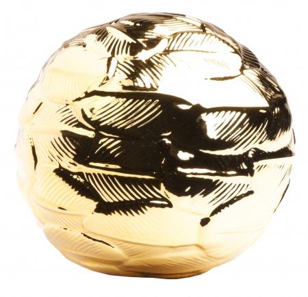 Декоративный шар Gold DG-HOMEРазный настольный декор<br>. Бренд - DG-HOME. ширина/диаметр - 100. материал - Полирезин. цвет - Золото.<br><br>популярные производители: DG-HOME<br>ширина/диаметр: 100<br>материал: Полирезин<br>цвет: Золото