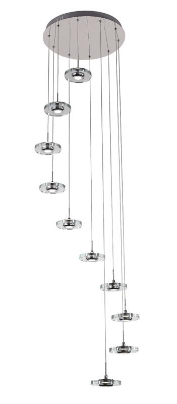Подвесной  потолочный светильник SL569.103.10 ST-Luceподвесные<br>Люстра подвесная. Бренд - ST-Luce. материал плафона - пластик. цвет плафона - прозрачный. тип лампы - LED. ширина/диаметр - 400. мощность - 3. количество ламп - 10.<br><br>популярные производители: ST-Luce<br>материал плафона: пластик<br>цвет плафона: прозрачный<br>тип лампы: LED<br>ширина/диаметр: 400<br>максимальная мощность лампочки: 3<br>количество лампочек: 10