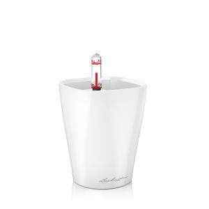 Настольное кашпо с автополивом MINI- DELTINI Белый блестящий LechuzaВазы<br>Настольное кашпо с автополивом MINI- DELTINI Белый блестящий. Бренд - Lechuza. ширина/диаметр - 100. материал - Пластик. цвет - белый.<br><br>популярные производители: Lechuza<br>ширина/диаметр: 100<br>материал: Пластик<br>цвет: белый