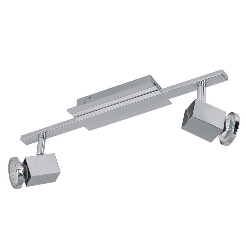 спот 93322 EGLOСпоты<br>Светодиодный спот ZABELLA, 2х5W (GU10), хром. Бренд - EGLO. тип цоколя - GU10. тип лампы - галогеновая или LED. ширина/диаметр - 395. мощность - 5. количество ламп - 2.<br><br>популярные производители: EGLO<br>тип цоколя: GU10<br>тип лампы: галогеновая или LED<br>ширина/диаметр: 395<br>максимальная мощность лампочки: 5<br>количество лампочек: 2