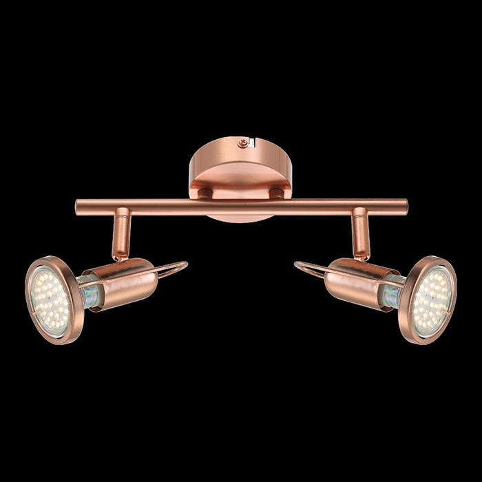 спот 54383-2 GloboСпоты<br>54383-2. Бренд - Globo. материал плафона - металл. цвет плафона - розовый. тип цоколя - GU10. тип лампы - галогеновая или LED. ширина/диаметр - 130. мощность - 3. количество ламп - 2.<br><br>популярные производители: Globo<br>материал плафона: металл<br>цвет плафона: розовый<br>тип цоколя: GU10<br>тип лампы: галогеновая или LED<br>ширина/диаметр: 130<br>максимальная мощность лампочки: 3<br>количество лампочек: 2