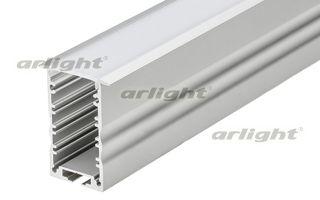 Алюминиевый профиль длина 2м в комплекте с матовым экраном. Материал экрана - PC, UV-защитный, ударо Arlight