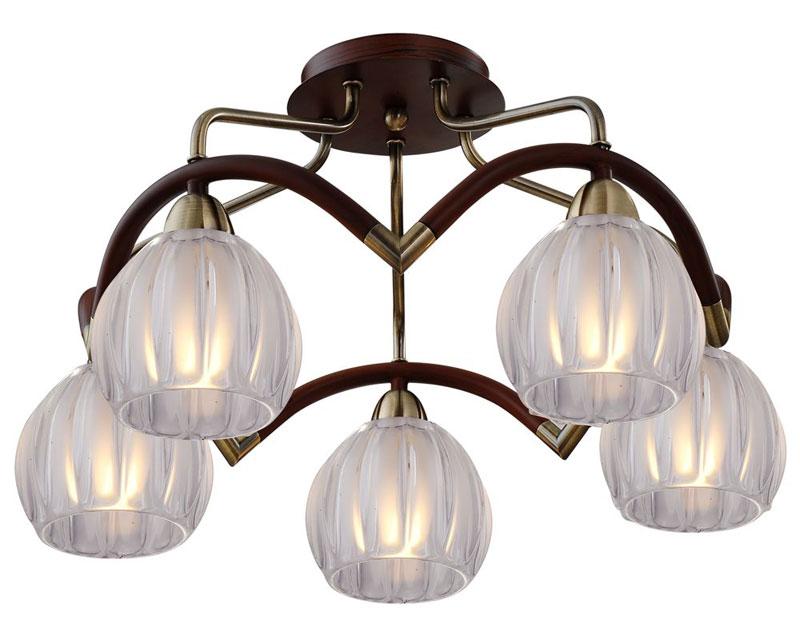 Потолочная люстра накладная 407-05-53ABWBB antique brass + walnut N-Lightнакладные<br>5*60W, E14, 230V <br>D=500mm<br>H=300mm. Бренд - N-Light. материал плафона - стекло. цвет плафона - белый. тип цоколя - E14. тип лампы - накаливания или LED. ширина/диаметр - 500. мощность - 60. количество ламп - 5.<br><br>популярные производители: N-Light<br>материал плафона: стекло<br>цвет плафона: белый<br>тип цоколя: E14<br>тип лампы: накаливания или LED<br>ширина/диаметр: 500<br>максимальная мощность лампочки: 60<br>количество лампочек: 5