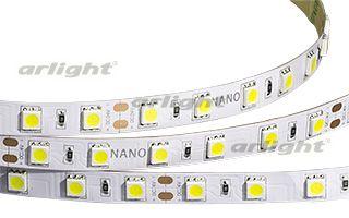 Лента RTW 2-5000NC 24V White 2X (5060,300 LED,LUX) Arlightленты<br>Герметичная IP65 (защитное покрытие NANO) гибкая лента LUX, светодиоды 2X smd 5060, 60шт/м (300шт на 5м), белая плата 10мм, скотч 3М. Цвет БЕЛЫЙ 6000K. Питание 24В,.... Бренд - Arlight. тип лампы - LED. ширина/диаметр - 10. мощность - 72. количество ламп - 300.<br><br>популярные производители: Arlight<br>тип лампы: LED<br>ширина/диаметр: 10<br>максимальная мощность лампочки: 72<br>количество лампочек: 300