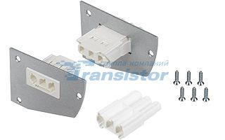 алюминиевый профиль 017299 Arlightкомплектующие<br>Пара заглушкек для профиля SHELF-MULTI с разъемами для питания (папа-мама). Материал - окрашенный металл. В комплекте 2шт, шурупы. Цена за комплект.. Бренд - Arlight.<br><br>популярные производители: Arlight