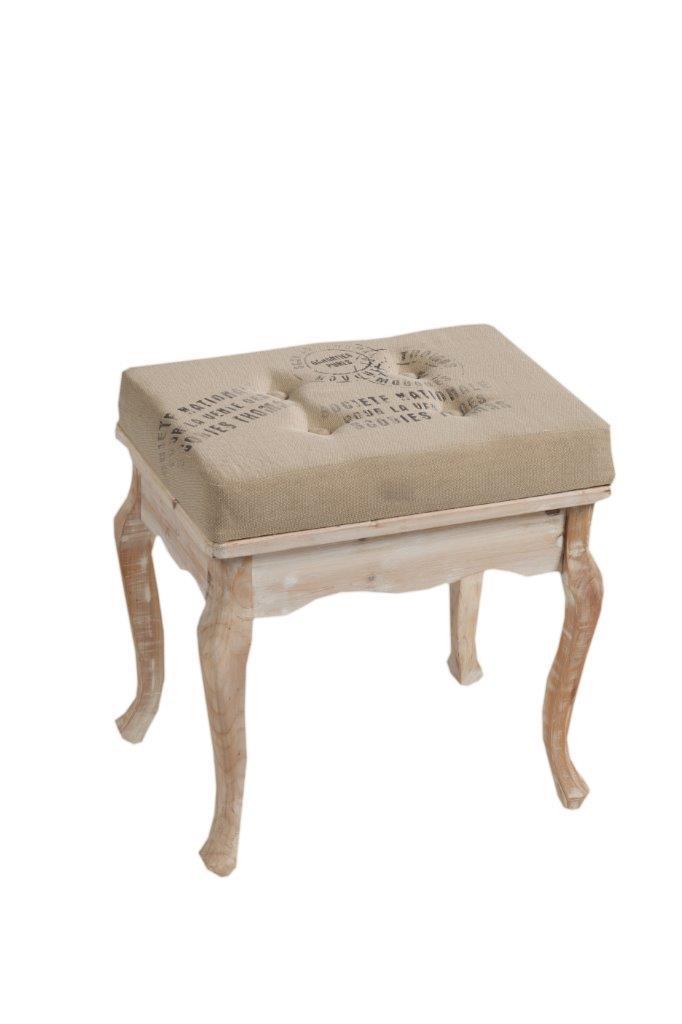 Табурет Narcissus DG-HOMEТабуреты<br>. Бренд - DG-HOME. ширина/диаметр - 3. материал - Дерево, МДФ, Поролон, Джут.<br><br>популярные производители: DG-HOME<br>ширина/диаметр: 3<br>материал: Дерево, МДФ, Поролон, Джут